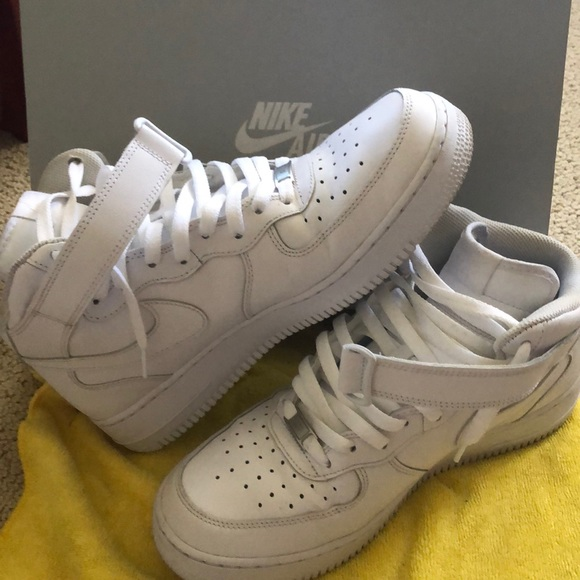 Nike Air Force 1 Mid '07 White | Size 10.5 | USED